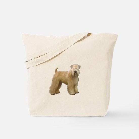 Wheaten T (stand) Tote Bag