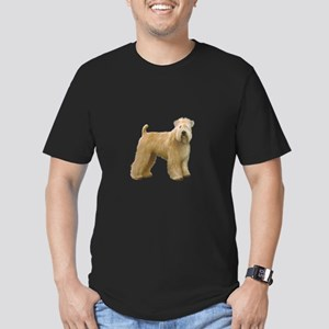Wheaten T (stand) Men's Fitted T-Shirt (dark)