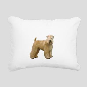 Wheaten T (stand) Rectangular Canvas Pillow