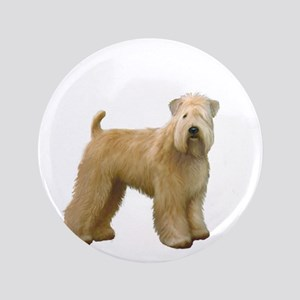"Wheaten T (stand) 3.5"" Button"