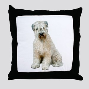 Wheaten (sit) Throw Pillow