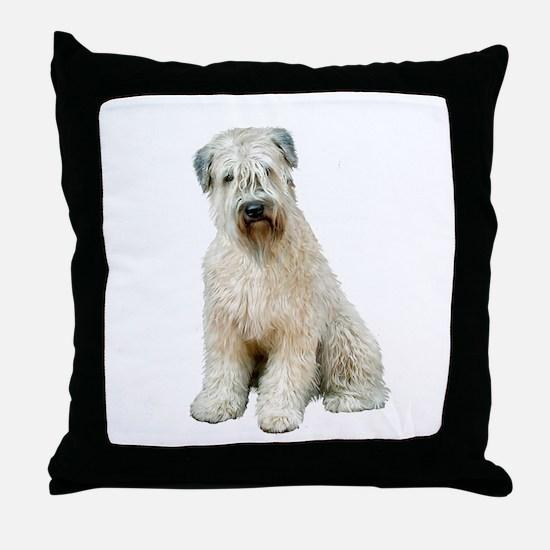 Wheaten (sit) Throw Pillow