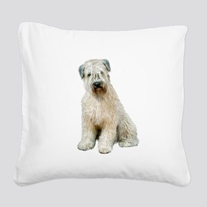 Wheaten (sit) Square Canvas Pillow