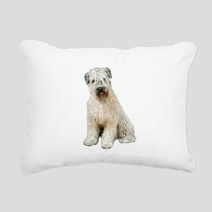 Wheaten (sit) Rectangular Canvas Pillow
