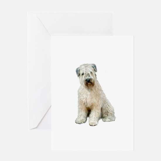 Wheaten (sit) Greeting Card
