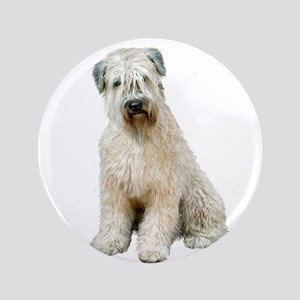 "Wheaten (sit) 3.5"" Button"