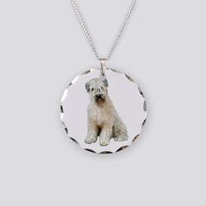 Wheaten (sit) Necklace Circle Charm