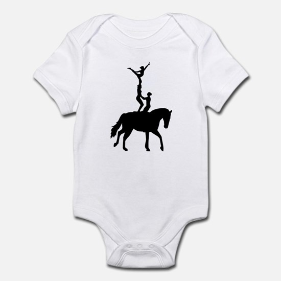 Vaulting dressage Infant Bodysuit