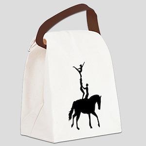 Vaulting dressage Canvas Lunch Bag