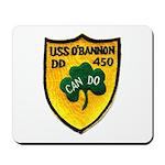 USS O'BANNON Mousepad