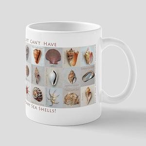 Too Many Shells! Mugs