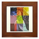All Colors Of Nikki Framed Tile
