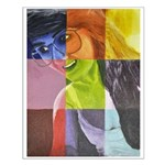All Colors Of Nikki Small Poster