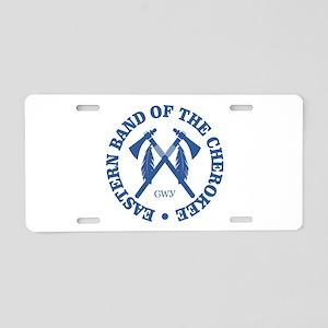 Cherokee (Eastern Band) Aluminum License Plate