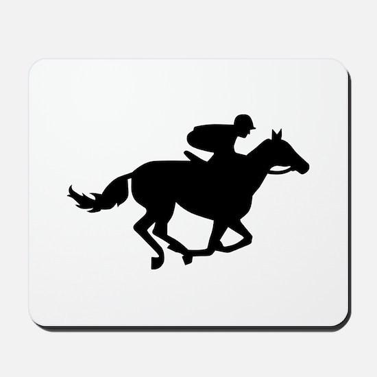Horse race racing Mousepad