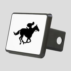 Horse race racing Rectangular Hitch Cover
