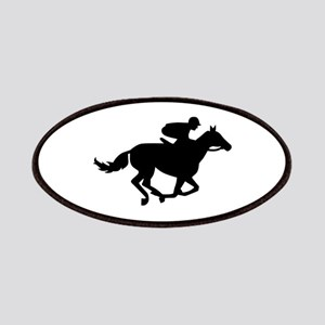 Horse race racing Patches