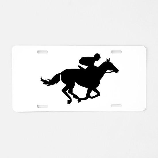 Horse race racing Aluminum License Plate
