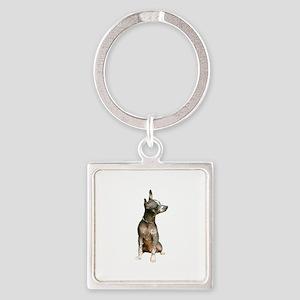 Xoloitzcuintle (A) Square Keychain