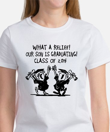 What a Relief - Son- Class of 2014 Women's T-Shirt