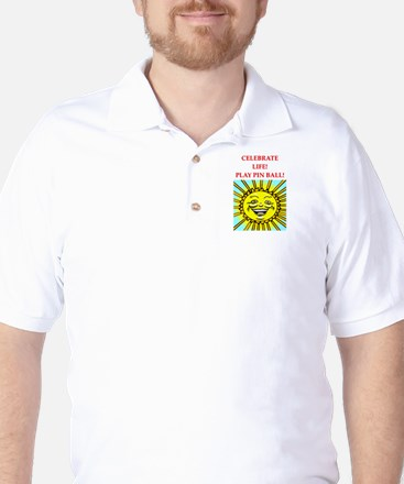 pinball Golf Shirt