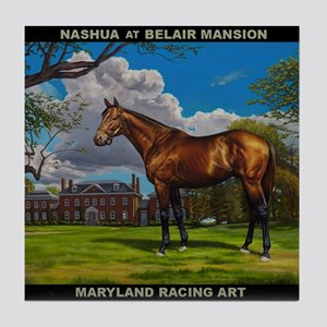 Nashua At Belair Mansion Tile Coaster