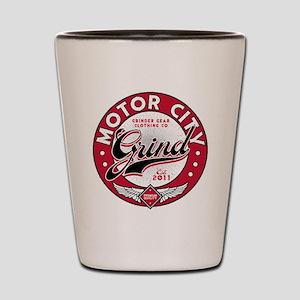 Motor City Grind Shot Glass