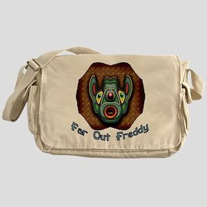 Far Out Freddy Messenger Bag