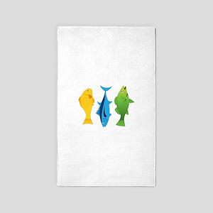 Fish 3'x5' Area Rug