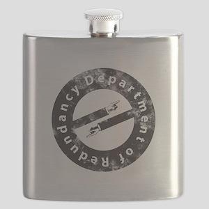 Department of Redundancy - Black Flask