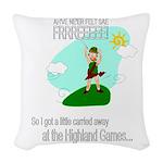 Highland Games Woven Throw Pillow