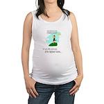 Highland Games Maternity Tank Top
