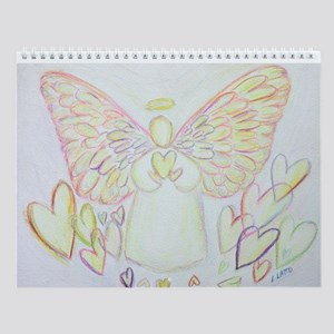 Angel Of Hearts Wall Calendar