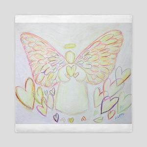 Angel of Hearts Queen Duvet