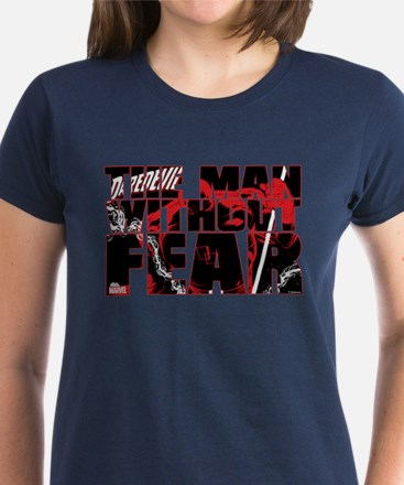 Daredevil: Man Without Fear Women's Dark T-Shirt