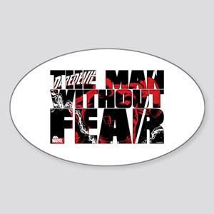 Daredevil: Man Without Fear Sticker (Oval)