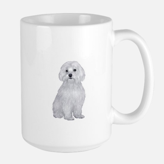 Maltese (#2) Large Mug