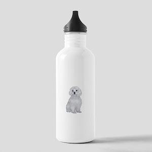 Maltese (#2) Stainless Water Bottle 1.0L