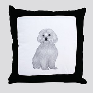 Maltese (#2) Throw Pillow