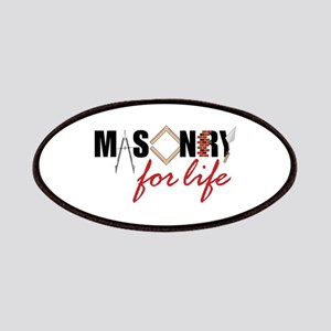 Masonry For Life Patches