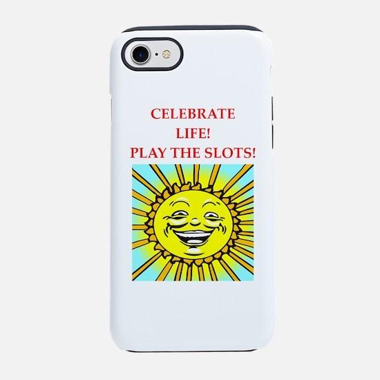 slots iPhone 7 Tough Case
