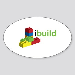 I Build Sticker