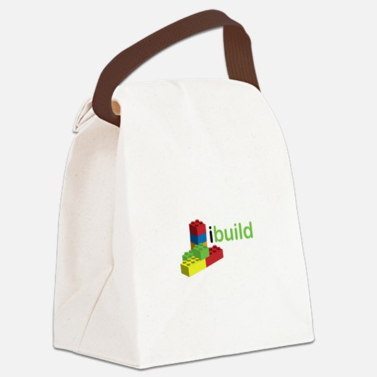 I Build Canvas Lunch Bag