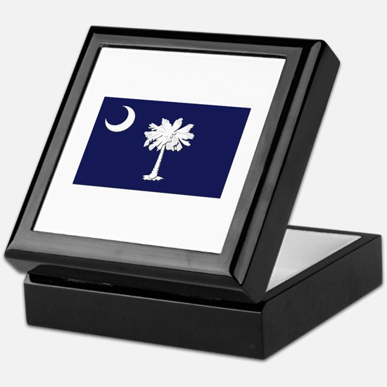 Flag of South Carolina Keepsake Box