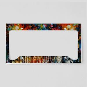 art License Plate Holder