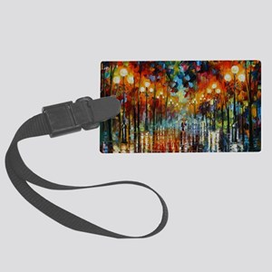 art Large Luggage Tag