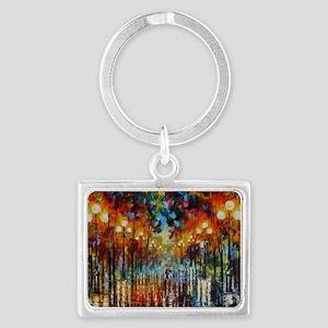 art Landscape Keychain
