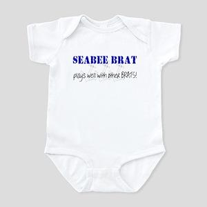 SEABEE BRAT Infant Bodysuit