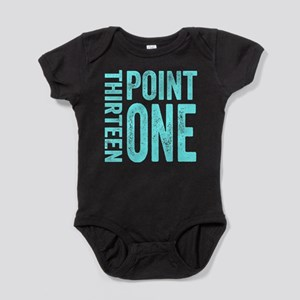 Thirteen Point One. 13.1. Half-Marathon. Baby Body