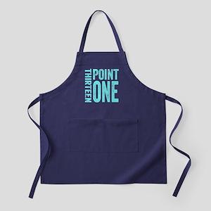 Thirteen Point One. 13.1. Half-Marathon. Apron (da